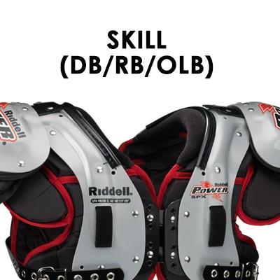 Skill (DB - RB - OLB)